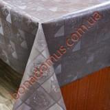 9019 Grey Клейонка ПВХ на тканинній основі однотонна карбована 1,40*20м