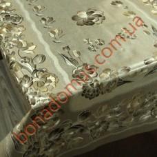 008 C-LG Скатерти ПВХ на тканной основе чеканная