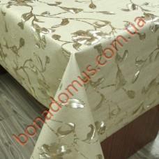 8880 F Клейонка ПВХ на тканинній основі шовкографія золото/срібло 1,40*20м