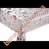 8639 BF Клеенка ПВХ на тканной основе шелкография золото/серебро 1,40*20м