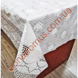 144F White Клеенка LACE / Ажур 1,32*22м