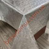 8138 B Клейонка ПВХ на тканинній основі шовкографія золото/срібло 1,40*20м