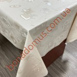 8830 A3 Клейонка ПВХ на тканинній основі однотонна карбована 1,40*20м