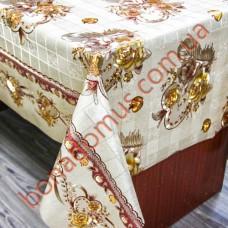 1052 EF Клейонка ПВХ на тканинній основі карбована