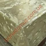 8208 F Клеенка ПВХ на тканной основе чеканная золото/серебро 1,40*20м