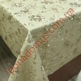 8801 F Клеенка ПВХ на тканной основе шелкография золото/серебро 1,40*20м