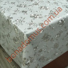 8801 B Клеенка ПВХ на тканевой основе шелкография золото/серебро 1,40*20м