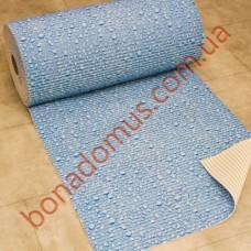 13025 Blue Коврики в ванную 0,65*15м
