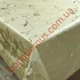 8722 F Клеенка ПВХ на тканной основе шелкография золото/серебро 1,40*20м
