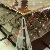 1373 B Клеенка ПВХ прозрачный силикон