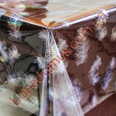 003 B Клеенка ПВХ прозрачный силикон