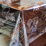 014 B Клеенка ПВХ прозрачный силикон