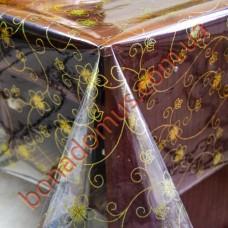 1416 A Клеенка ПВХ прозрачный силикон