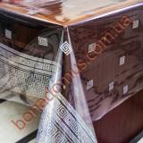1346 B Клеенка ПВХ прозрачный силикон