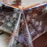 1206 B Клеенка ПВХ прозрачный силикон