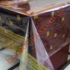 1346 A Клеенка ПВХ прозрачный силикон