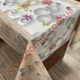 5060-2 Клейонка ПВХ на тканинній основі 3-х шарова фотодрук 1,40*20м