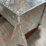 8831 B Клейонка ПВХ на тканинній основі шовкографія золото/срібло 1,40*20м