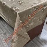 112 C-LG Клейонка ПВХ на тканинній основі шовкографія золото/срібло 1,40*20м