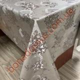 114 G-S Клейонка ПВХ на тканинній основі шовкографія золото/срібло 1,40*20м