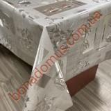 103 G-S Клейонка ПВХ на тканинній основі шовкографія золото/срібло 1,40*20м