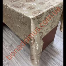 113 C-LG Клейонка ПВХ на тканинній основі шовкографія золото/срібло 1,40*20м