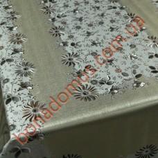 002 C-S Скатерти ПВХ на тканной основе чеканная