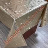 8308 F Клейонка ПВХ на тканинній основі шовкографія золото/срібло 1,40*20м