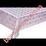 8536 B Клейонка ПВХ на тканинній основі шовкографія золото/срібло 1,40*20м