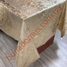 8816 F Клейонка ПВХ на тканинній основі шовкографія золото/срібло 1,40*20м