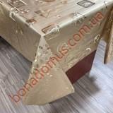 8812 F Клейонка ПВХ на тканинній основі шовкографія золото/срібло 1,40*20м