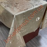 8832 F Клейонка ПВХ на тканинній основі шовкографія золото/срібло 1,40*20м