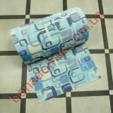 8207 А  Blue Коврик в ванную 0,80*15м