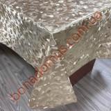 8399 F Клейонка ПВХ на тканинній основі шовкографія золото/срібло 1,40*20м