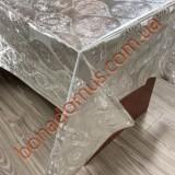 8400 B Клейонка ПВХ на тканинній основі шовкографія золото/срібло 1,40*20м