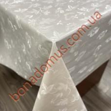 8252 Клейонка ПВХ на тканинній основі однотонна карбована 1,40*20м
