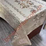 8151 F Клейонка ПВХ на тканинній основі шовкографія золото/срібло 1,40*20м