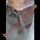 1206 A Клеенка ПВХ прозрачный силикон