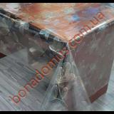 5025 A Клеенка ПВХ прозрачный силикон