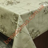 8223 F Клейонка ПВХ на тканинній основі карбована золото/срібло 1,40*20м