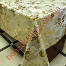 8090 FB Клейонка ПВХ на тканинній основі шовкографія золото/срібло 1,40*20м