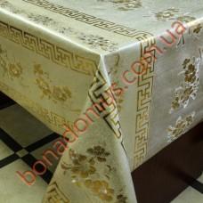 8092 FB Клейонка ПВХ на тканинній основі шовкографія золото/срібло 1,40*20м