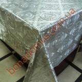 8351 B Клейонка ПВХ на тканинній основі шовкографія золото/срібло 1,40*20м