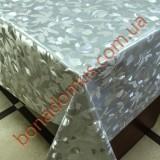 8399 B Клеенка ПВХ на тканной основе шелкография золото/серебро 1,40*20м