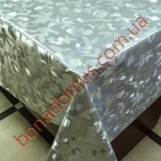 8399 B Клейонка ПВХ на тканинній основі шовкографія золото/срібло 1,40*20м