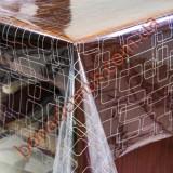 1372 B Клеенка ПВХ прозрачный силикон
