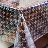 5219 B Клеенка ПВХ прозрачный силикон