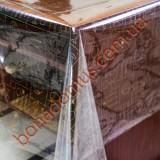 51676 A Клеенка ПВХ прозрачный силикон