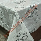 180 H Black and Grey Клеенка LACE / Ажур 1,32*22м
